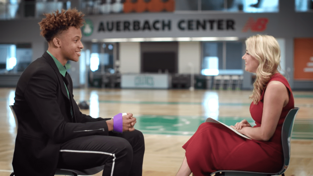 RT @daily_hoosier: Video: Romeo Langford Goes One-on-One on His NBA Draft Experience #iubb https://t.co/NpqoeMHFVg https://t.co/Ugm3wGOUlI