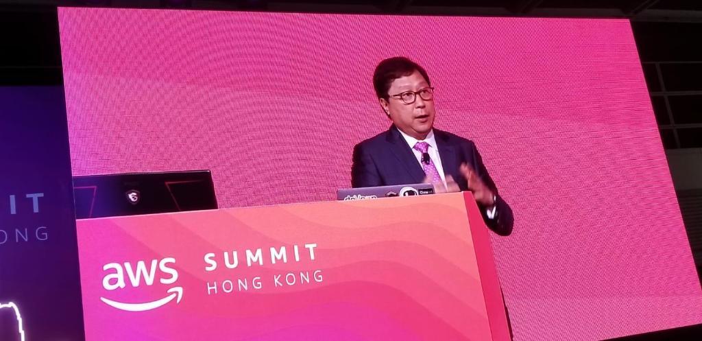 集團首席科技總監梁松光今日出席 @awscloud 在香港舉行的AWS Summit,向300位嘉賓介紹香港交易所的創新科技策略與發展。 https://t.co/uhSSqq3pop