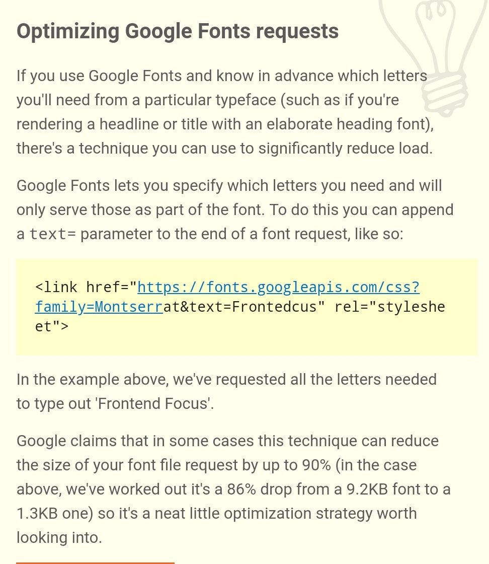 Just saw this in a newsletter... Pretty cool! @csswizardry did you know this? https://t.co/vn9LlzOveg