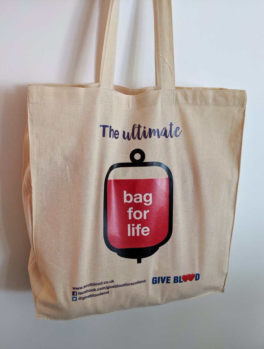 RT @PPWHospice: We're big fans of this - the ultimate bag for life! #WorldBloodDonorDay https://t.co/ql9Oloa9VA