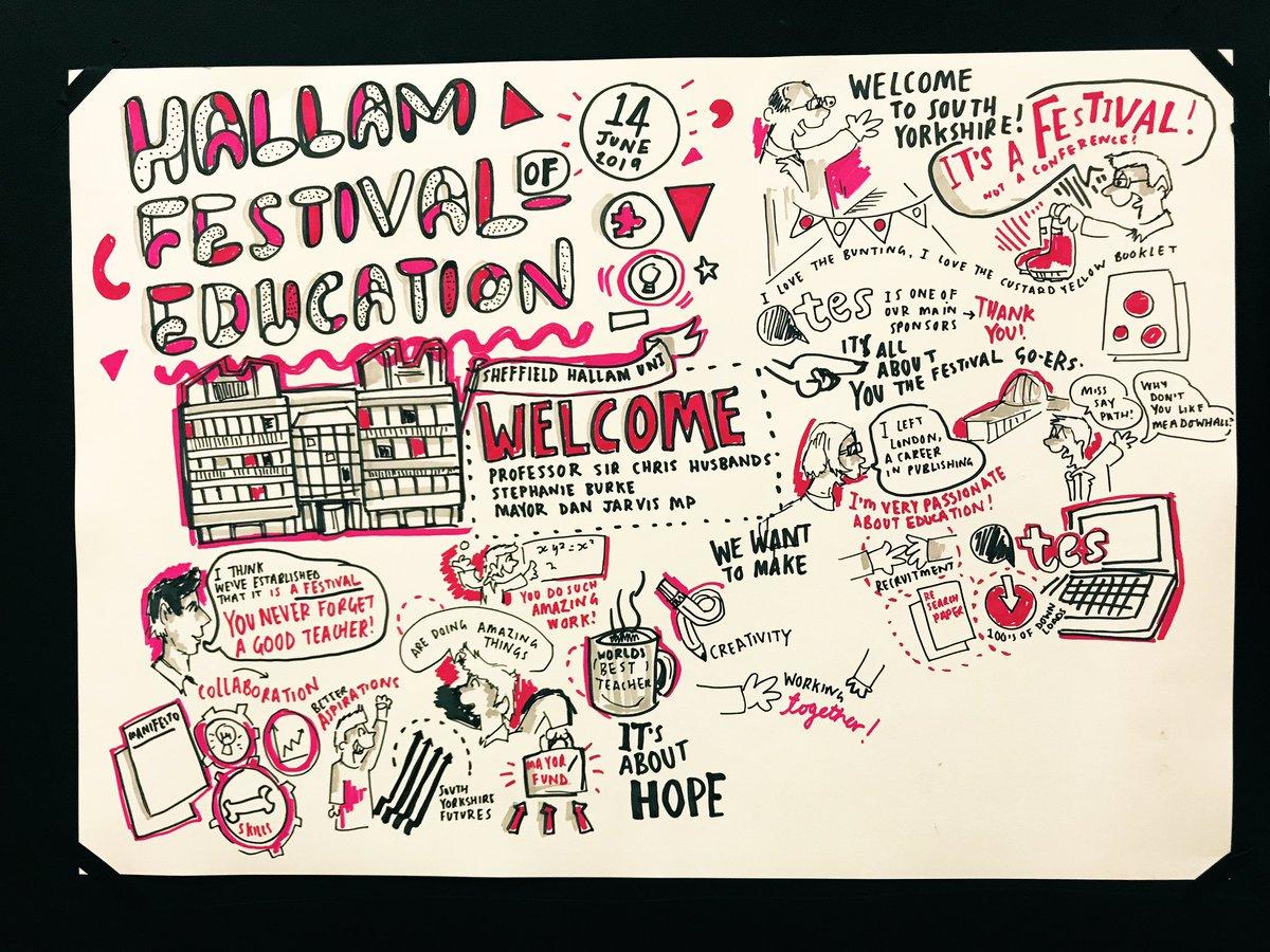 RT @smizz: On the 4th talk! #hallamedfest https://t.co/5gpGZq3kXT