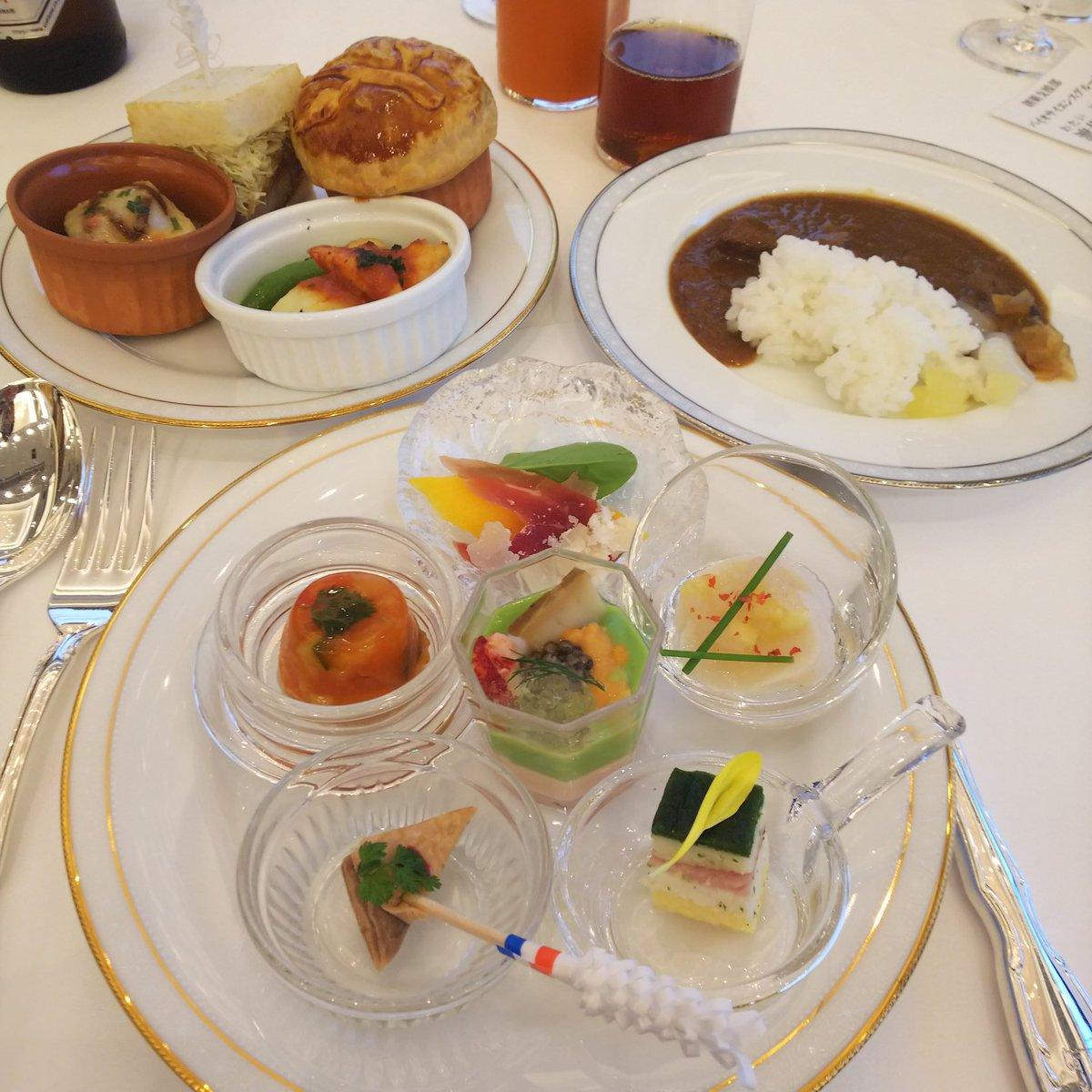 test ツイッターメディア - きょは、東京會舘にて社内懇親会✨ 料理が全て美味しい~😋💓 デザートには名物マロンシャンテリーのミニサイズもあるし、満足じゃ~  うぐっ・・・ダイエット😣 https://t.co/oUTM6o28Pf