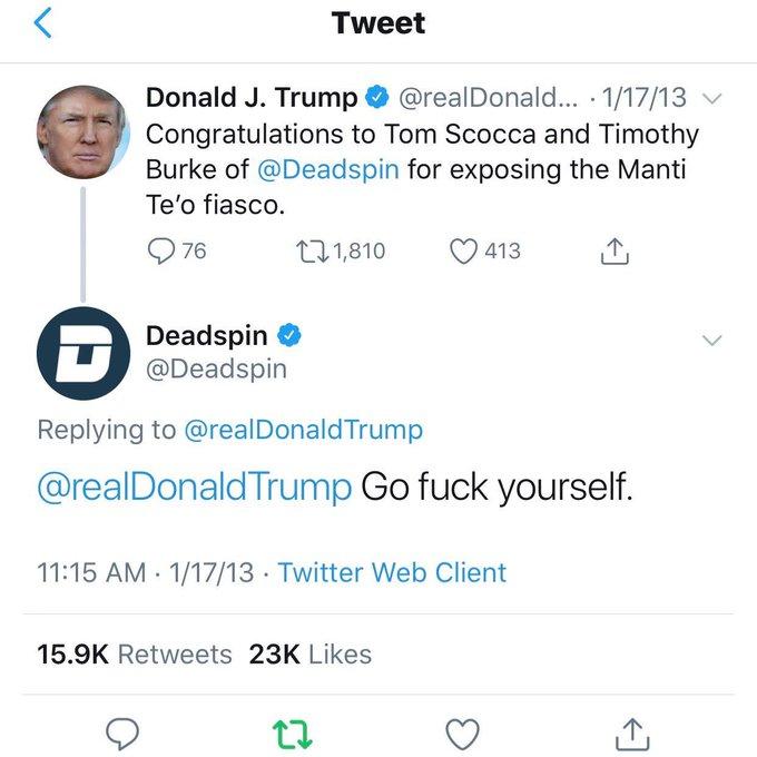 Happy birthday, Donald Trump