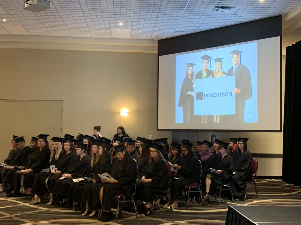 test Twitter Media - Congratulations to the Graduates from Robertson College on behalf of Hon. Kelvin Goertzen, Minister of Education and Training with @LenIsleifson. https://t.co/7QLaTObUte