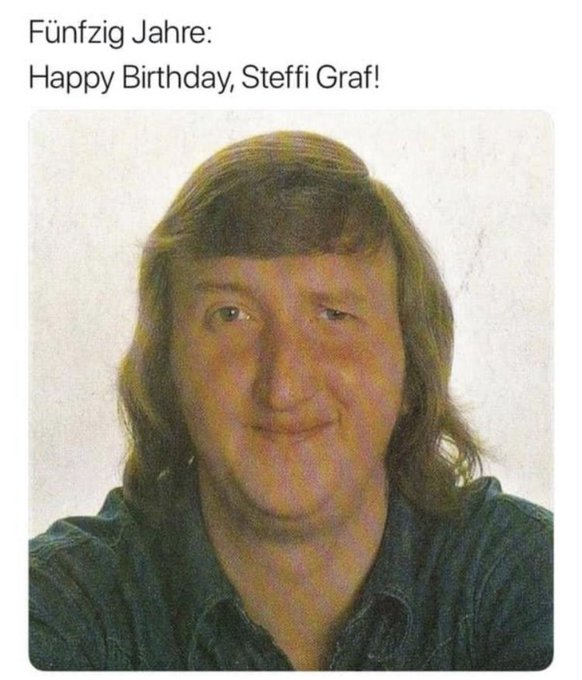 Happy Birthday Steffi Graf