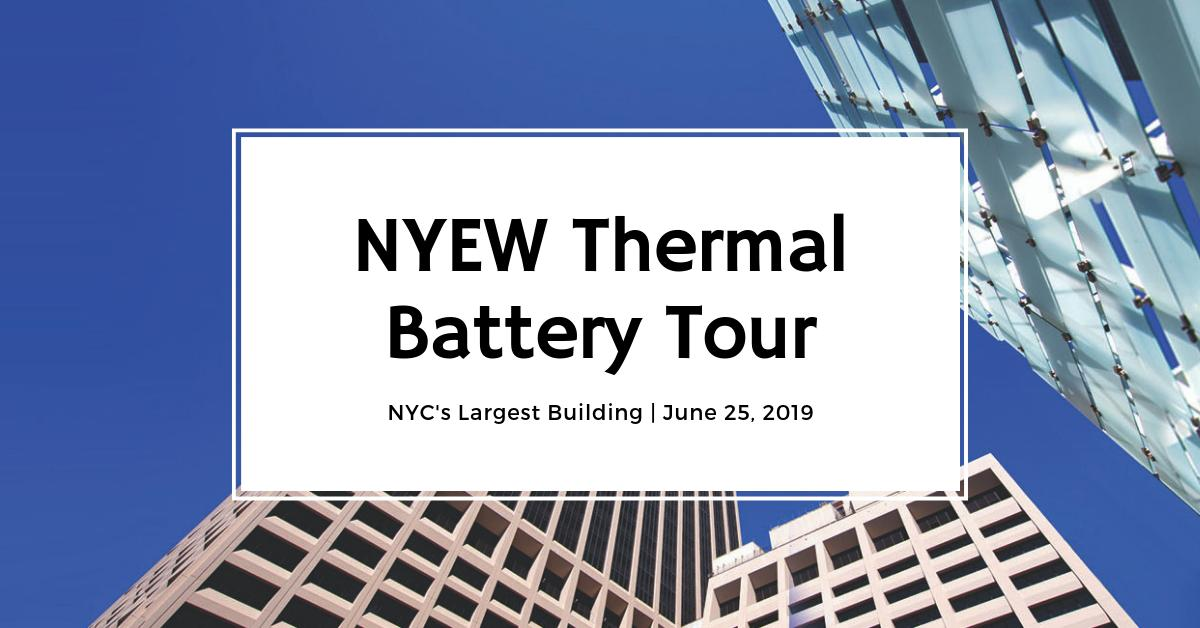 test Twitter Media - Tour the largest building in #NewYork with NYEW and see how new thermal battery tech cuts summer peak demand by 2.1 MW / $2.5 million annually. Tour details: https://t.co/434LG9fYHi https://t.co/SP4WF3hh80