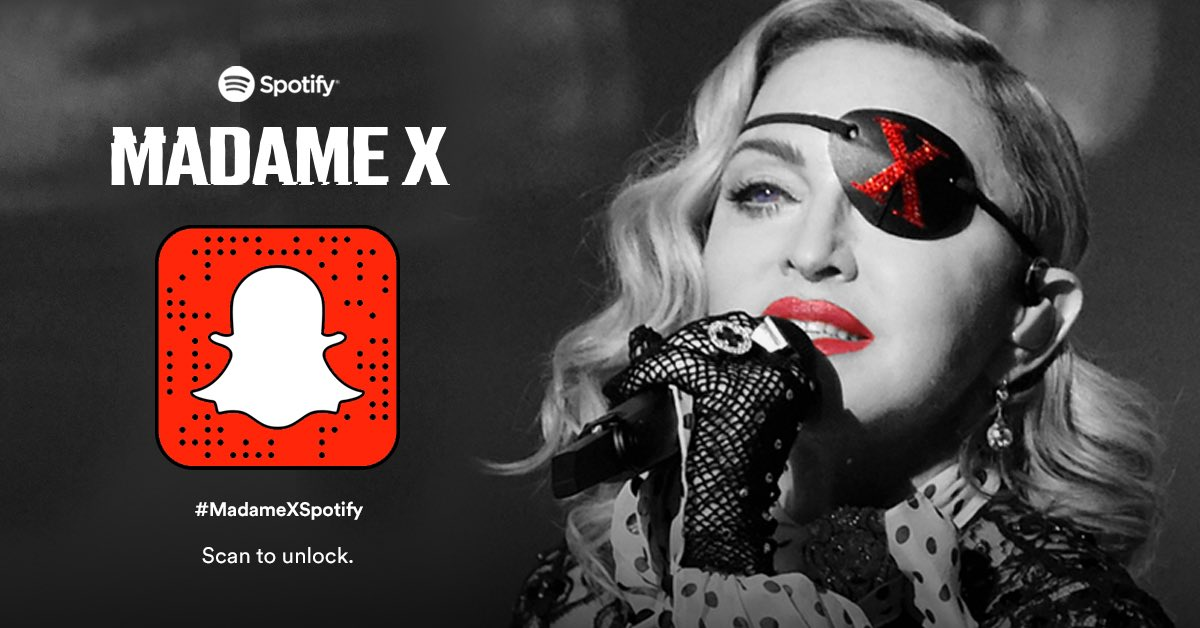 Become part of the Madame X army with @Spotify https://t.co/V38GClVHNf https://t.co/EIbtxsxQB3