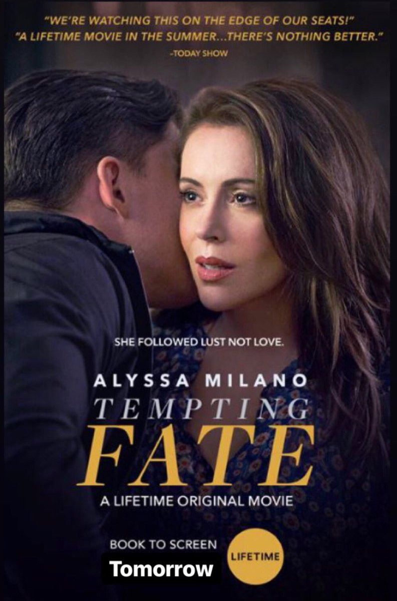 Tomorrow (Sat). Let's all watch this together maybe? Like a #TemptingFate twitter-viewing party maybe? BYOB. https://t.co/GVni3a8X9g