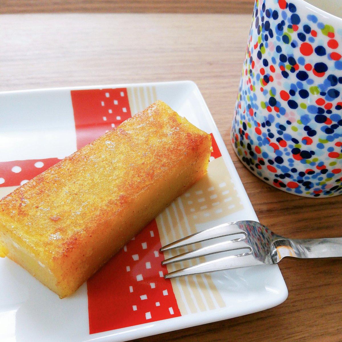 test ツイッターメディア - 初めて食べる舟和の芋ようかん、バターで焼いてみました! ほんとーーーーにおいしいーーーーー( ꈍᴗꈍ) https://t.co/LB5wkQXkET