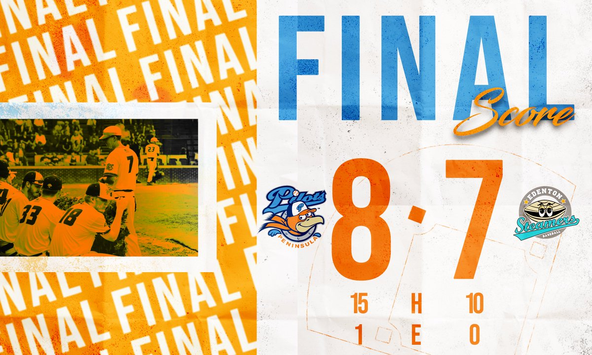 RT @PeninsulaPilots: FINAL from War Memorial Stadium! What a crazy ending against the @EdentonCPL. #PilotsNation https://t.co/YLRhizqBQ6