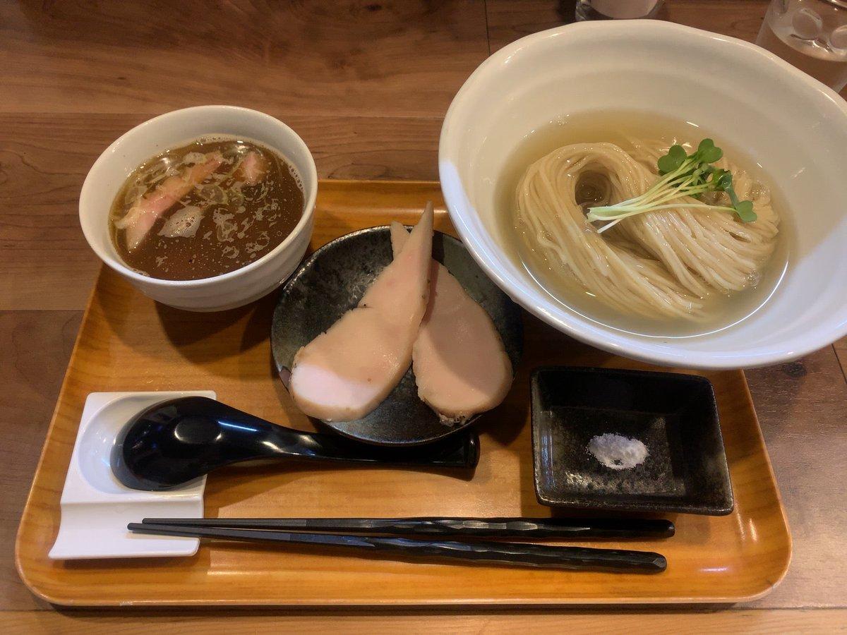test ツイッターメディア - 限定の煮干しつけ麺と、これまた限定の紅花たまごの卵かけご飯 (@ ラーメン 健やか in 武蔵野市, 東京都) https://t.co/vvMlk2DUqP https://t.co/WLogfl5PIl
