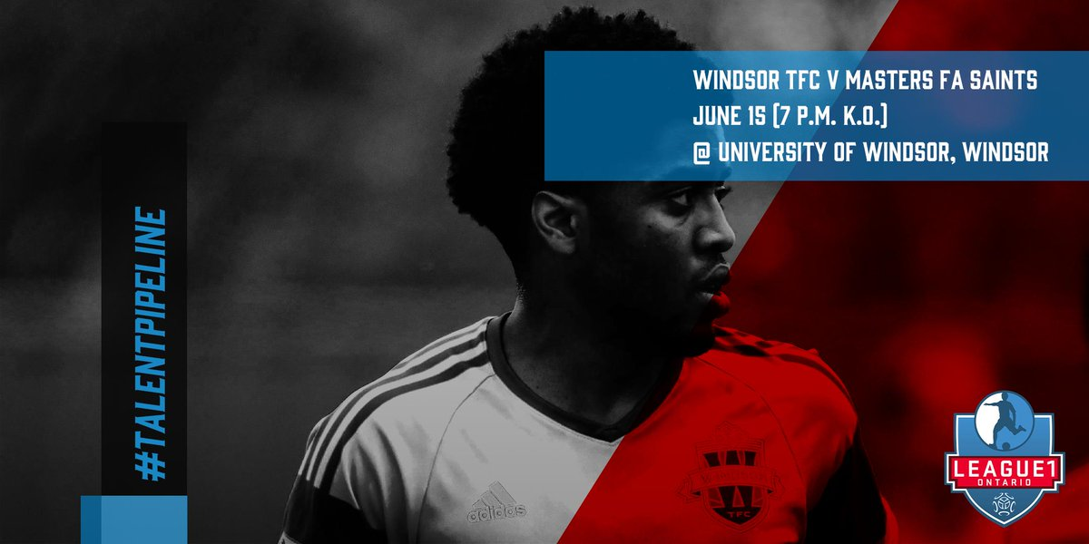 1x fixture in play for the men's div today as @WinTFC host @MastersFA at University of Windsor!  #talentpipeline https://t.co/KXax7SMRE5