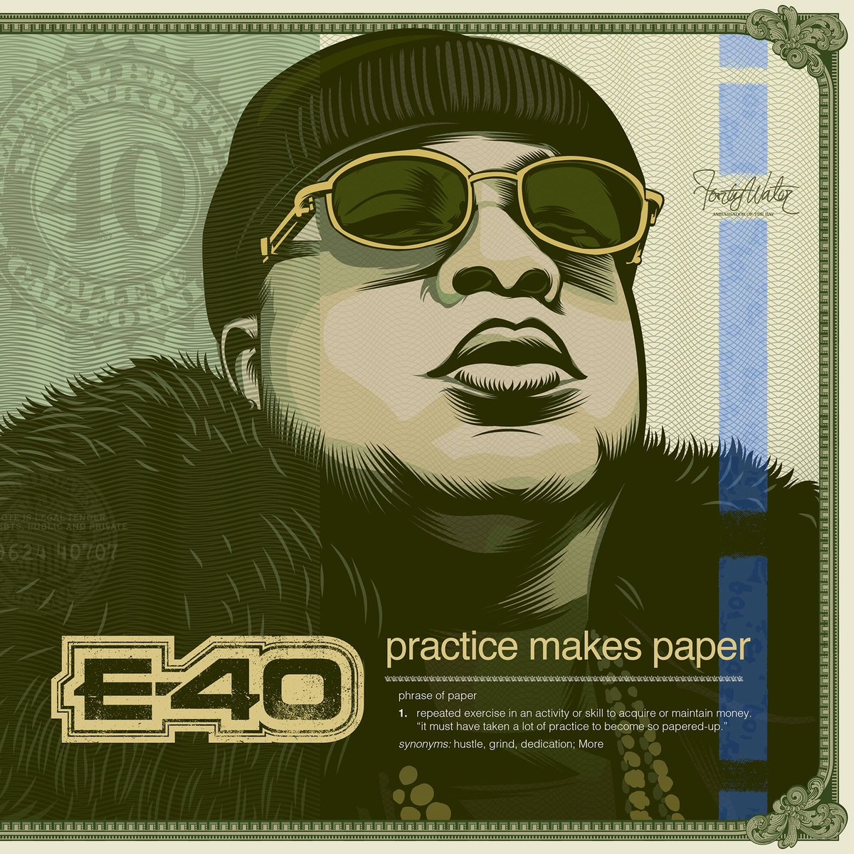 RT @E40: E-40 New solo Album  PRACTICE MAKES PAPER  07/26/19 ???????????????????????? https://t.co/48Z90DforO
