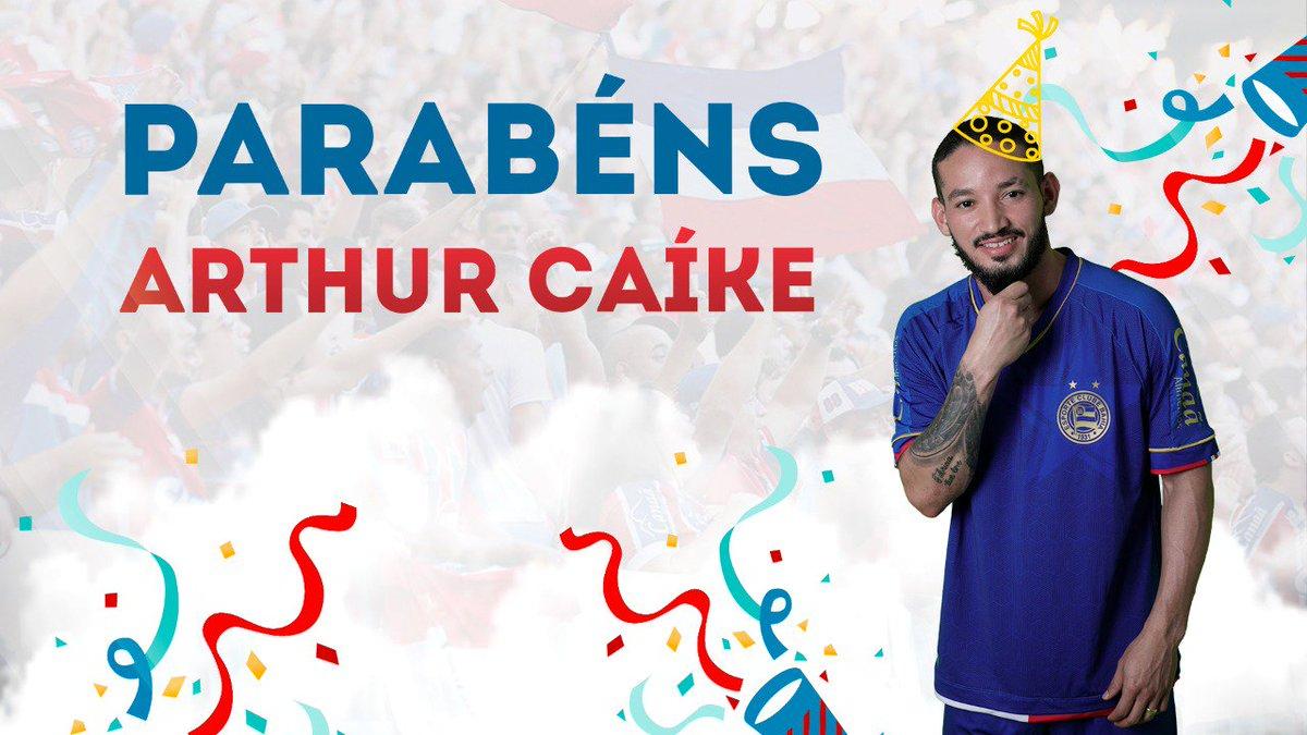 RT @ECBahia: 🎂 #AniversarianteDoDia Parabéns, Arthur Caíke!  #BBMP #AssociouBrocou https://t.co/CTBJmPYhvh