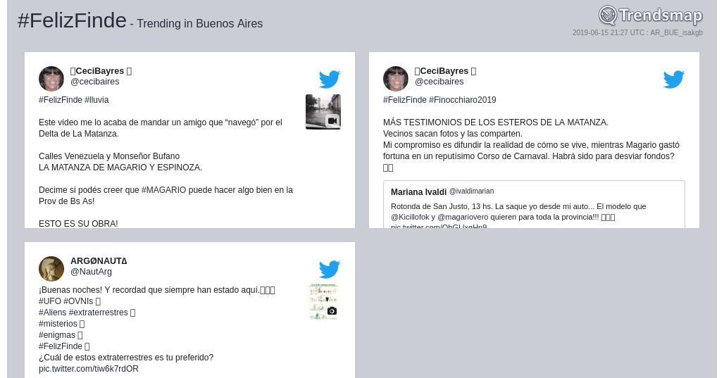 #felizfinde es ahora una tendencia en #BuenosAires  https://t.co/RVvbkEd3sZ https://t.co/Qr0tusoczr