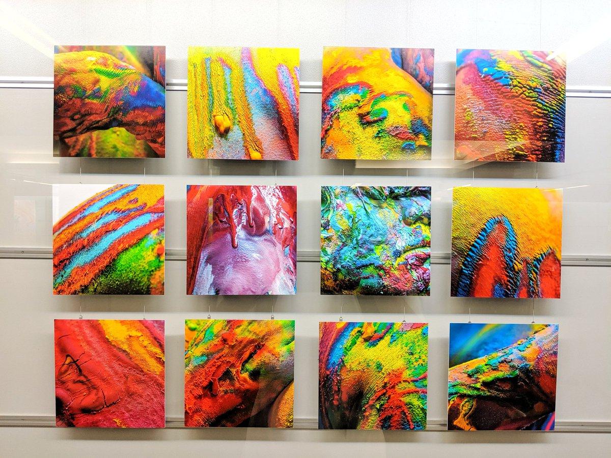 test ツイッターメディア - ART AWARD TOKYO MARUNOUCHI 2019  「I'm still alive」 新宅加奈子(@Shintaku_Kanako)さん (京都造形芸術大学大学院)  灰色の行幸地下ギャラリーの中でもひときわ鮮彩を放っていた作品です!  インドの「ホーリー祭」を連想しました! 色が綺麗で印象的でした!  #アートアワードトーキョー丸の内 https://t.co/khuKOqyxdW