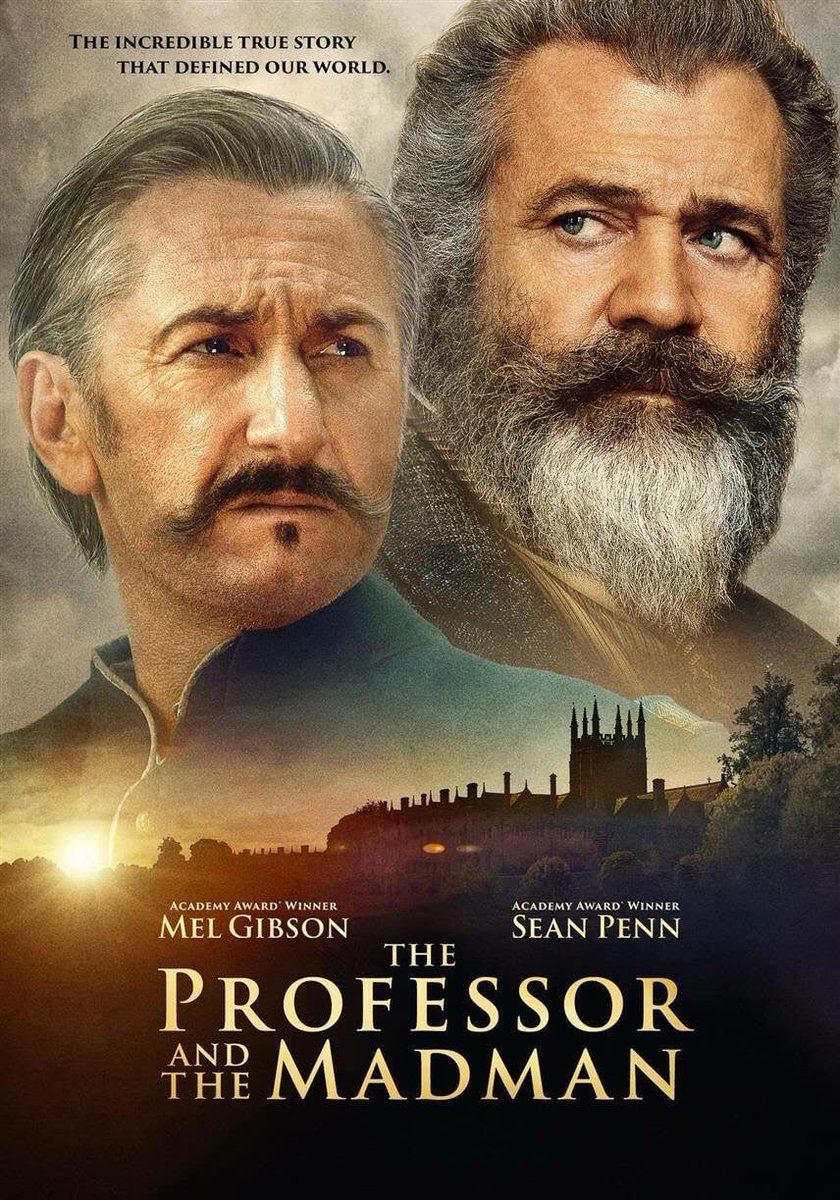 #NowWatching The Professor and the Madman...