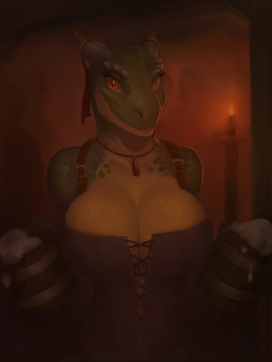 test Twitter Media - RT @neracod: Here's same argonian, except more risque somehow https://t.co/mIXXLMxyF8
