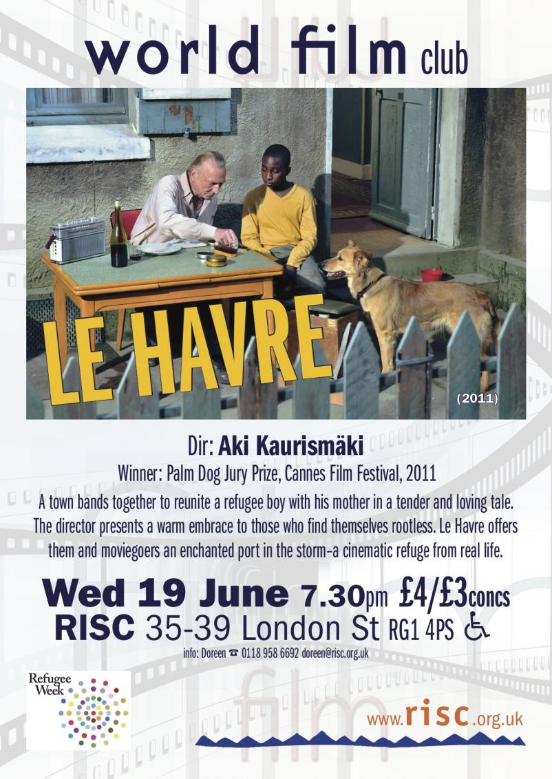 Film: Le Havre by Aki Kaurismäki  on Wed 19th June 7:30 pm https://t.co/8SAJ6exPr3 https://t.co/UV3m9iRSVz