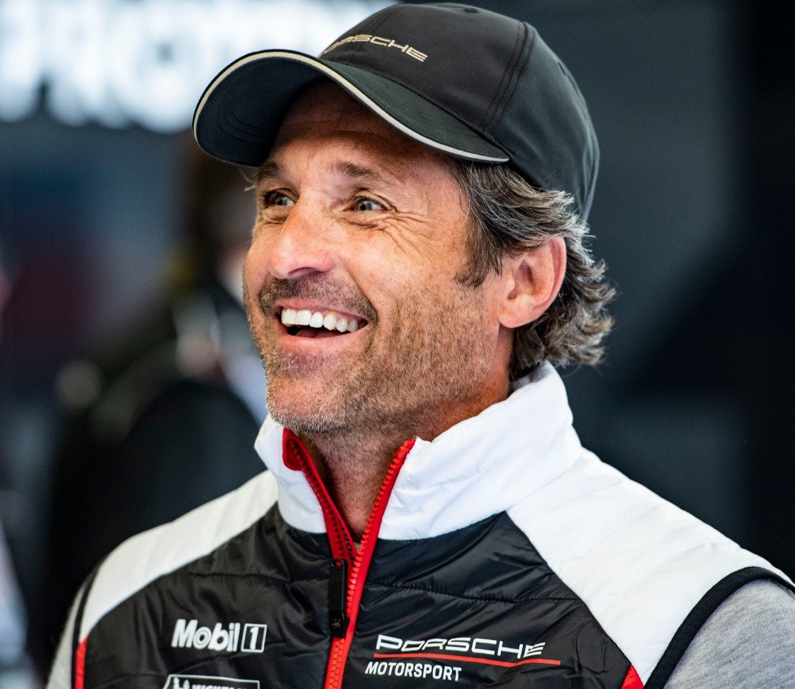 """#LeMans24 - """"I love this team. These guys have done a fantastic job all over the season. Staying with them, I feel heart, character and passion. I'm so proud to be part of this team"""", said co-owner @PatrickDempsey at the @24hoursoflemans @ProtonRacing @Porsche @FIAWEC"""
