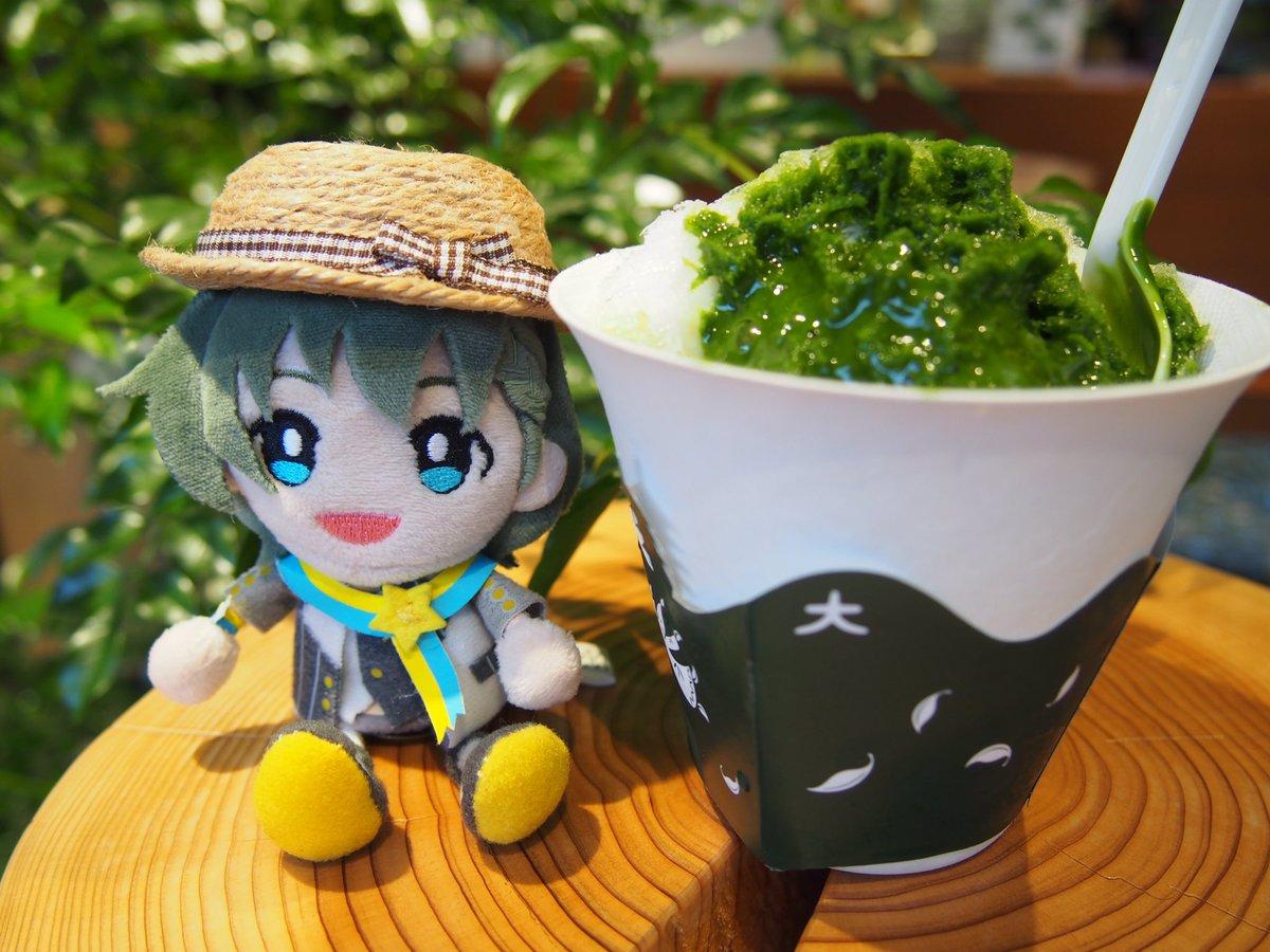 test ツイッターメディア - 巻緒くんと京都タワーのマールブランシュ ふわふわかき氷に美味しい抹茶蜜 中には抹茶アイスのダイスが入ってて最後まで楽しめました😋量もちょうど良い 無料のホットコーヒーもあるので嬉しかった☕️ https://t.co/W3Rk5EjhcH