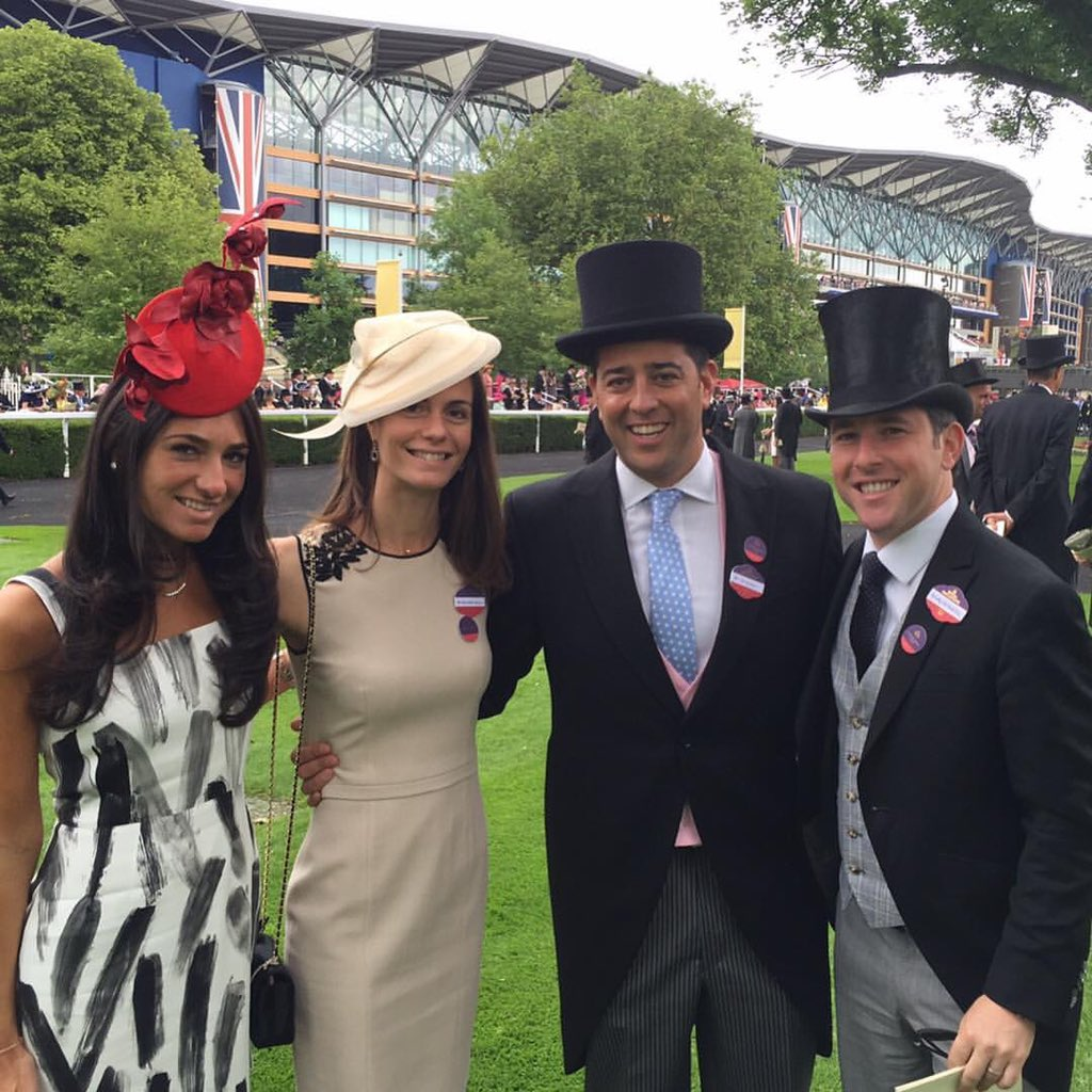 test Twitter Media - Ascot week has begun. Throwback to 3 years ago. Of course Sol was a rookie (just look at his 🎩). He has upgraded since. 🤣🤣🤣 https://t.co/Kvw7AI5hoI