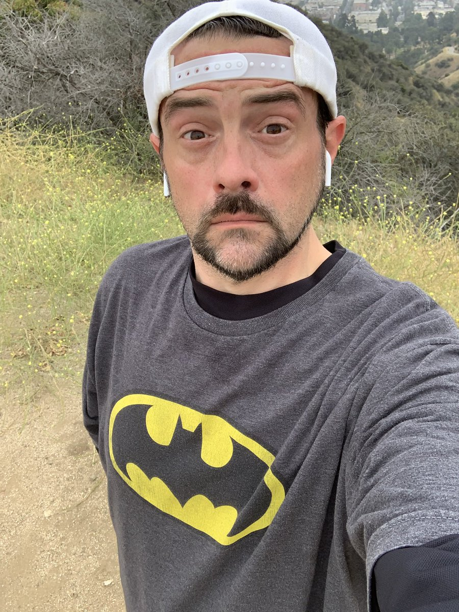 The Dad Knight Returns (to Runyon Canyon). #HappyFathersDay https://t.co/VaUs5ULUkO