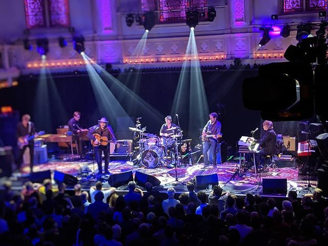 Wilco in Paradiso. #wilcomembroidery #paradisoamsterdam https://t.co/s0BSmy9o1s https://t.co/E4DzLqh3US