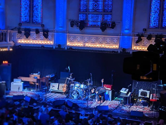 Paradiso, in afwachting van Wilco. #wilco #paradisoamsterdam https://t.co/FjQA2BtzvP https://t.co/dc95hbDpe9