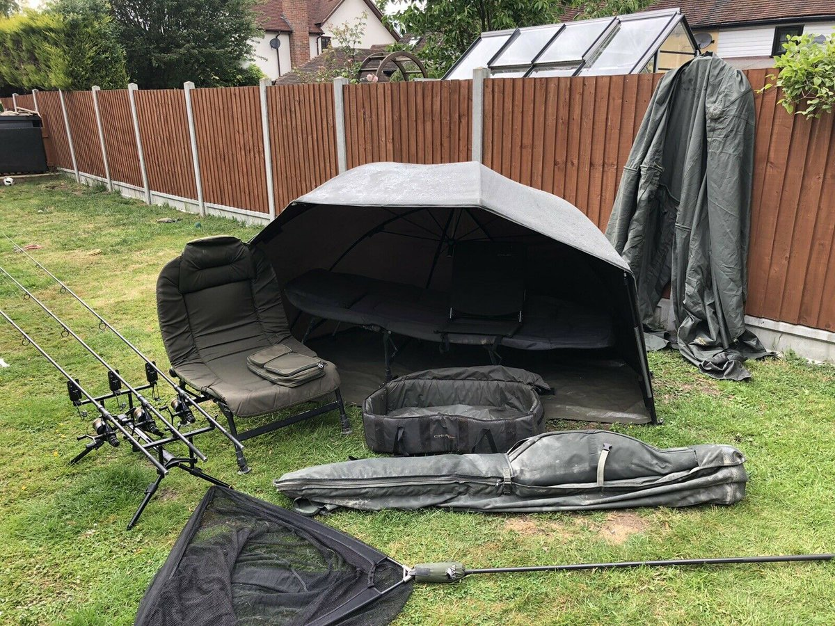 Ad - Full Carp Fishing Set Up For Sale On eBay here -->> https://t.co/PRj0Evhtg7  #carpfishing