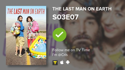 I've just watched S03E07 The Last Man on ... #lastmanonearth  #tvtime https://t.co/QPLVT9rVyJ https://t.co/m40m5ljCzj