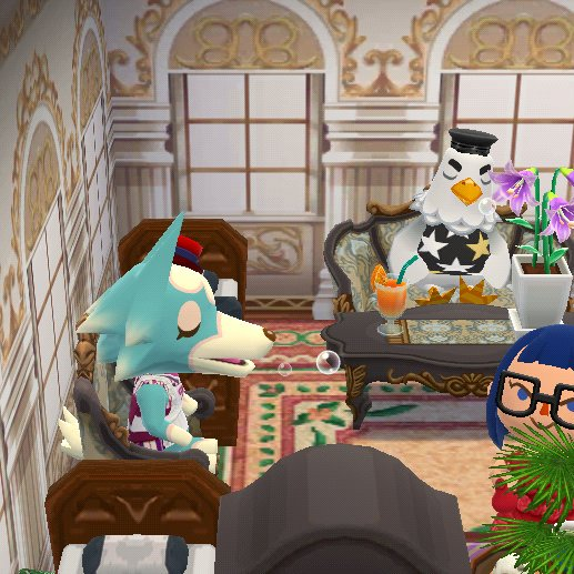 The 'Traveler Snooze'. Aww c'mon we've all had to deal with an 'overlay'. #ACPCDream #PocketCamp #AnimalCrossing https://t.co/dHyO1HXxCS