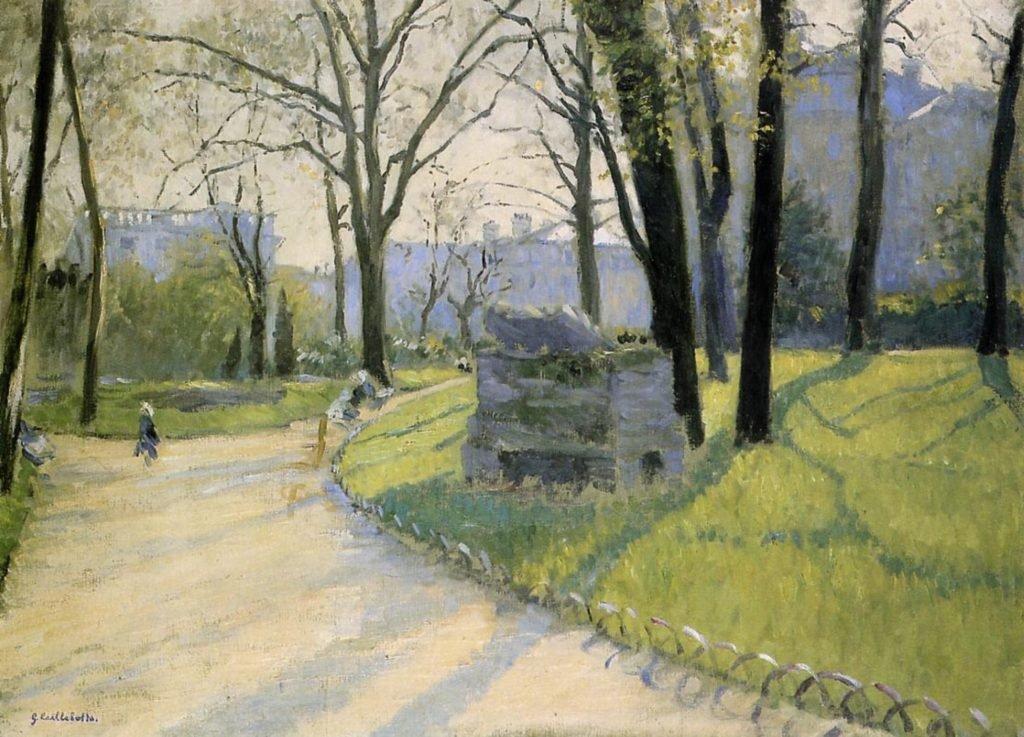 RT @ParisAMDParis: Gustave Caillebotte The Parc Monceau       1878      Paris https://t.co/caUBFy8t7n