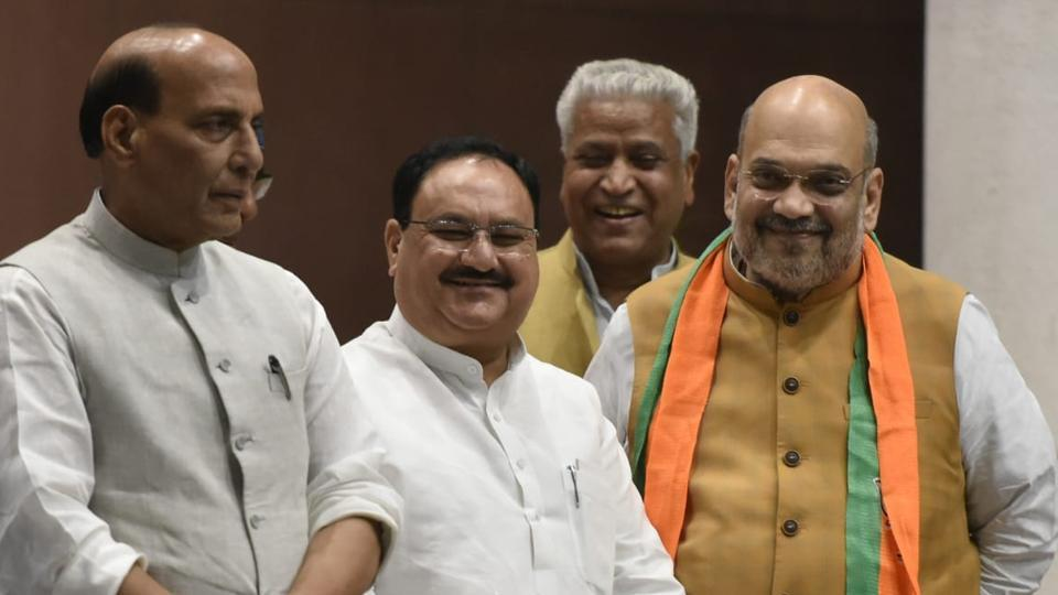 BJP switches into transition mode, appoints JP Nadda as working president | india news | Hindustan Times