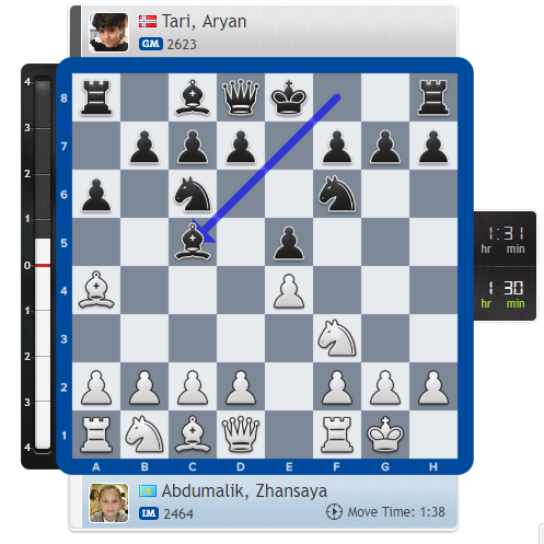 test Twitter Media - Zhansaya Abdumalik and Aryan Tari won the Girls & overall World Junior Championship in 2017 - today they play each other in the Teplice Open! https://t.co/C2EUlXmP2r #c24live https://t.co/7M4YSQ4awx