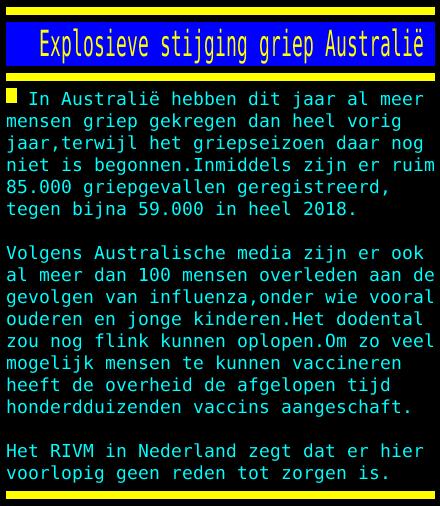 test Twitter Media - Explosieve stijging griep Australië https://t.co/vJ3cQlOufo