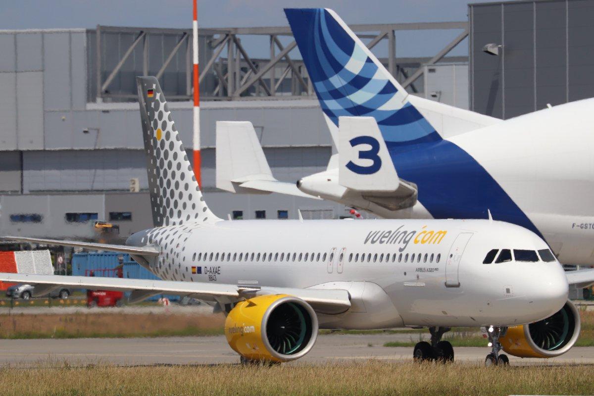 RT @Tobias_Gudat: #A320neo @Vueling EC-NDA firstflight https://t.co/O5WPj1YyQ7