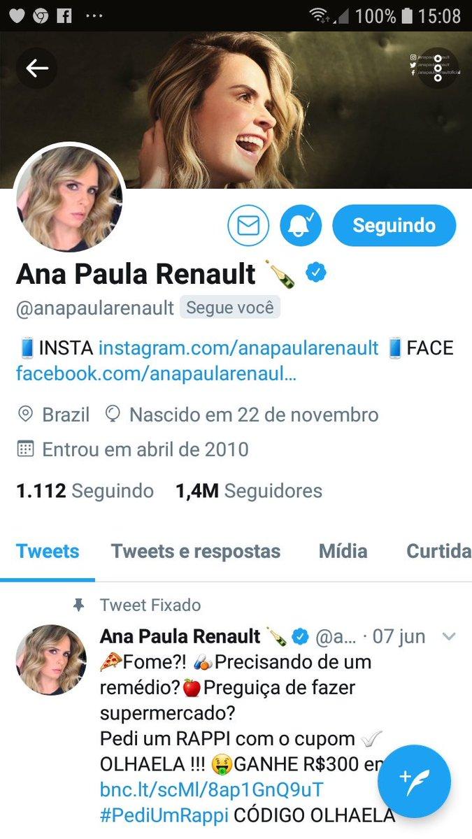 RT @MariaDe37349153: Gente!!!!!! @anapaularenault me seguiu morriiiiiiiiiii https://t.co/QiQDIZZH7Y