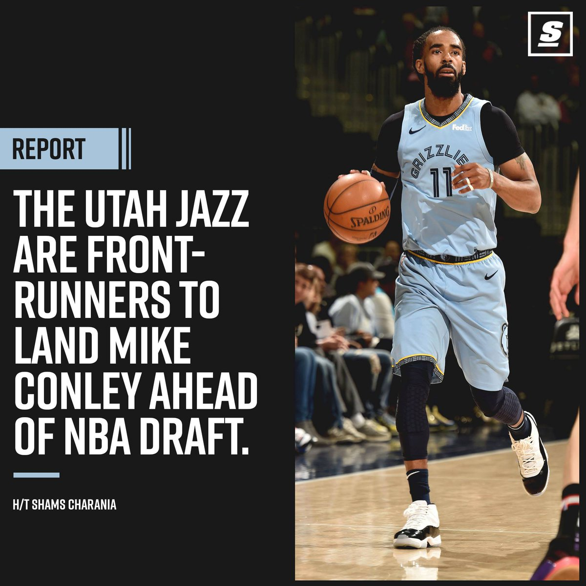 Report: Grizzlies 'intensifying' Conley trade talks, Jazz a front-runner | theScore.com