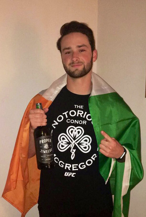 RT @TDorow10: @TheNotoriousMMA the family hooked me up with some @ProperWhiskey for my 21st birthday! ???????????? https://t.co/Lsr2QKELxa
