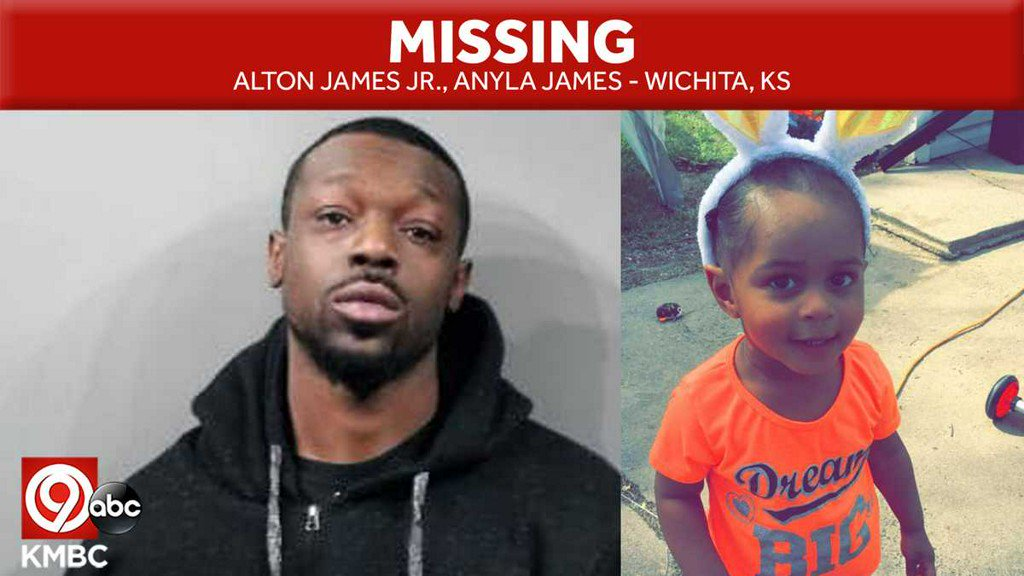 Wichita PD: Child missing, endangered -- may be with her father