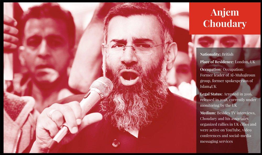 Anjem Choudary | Arab News