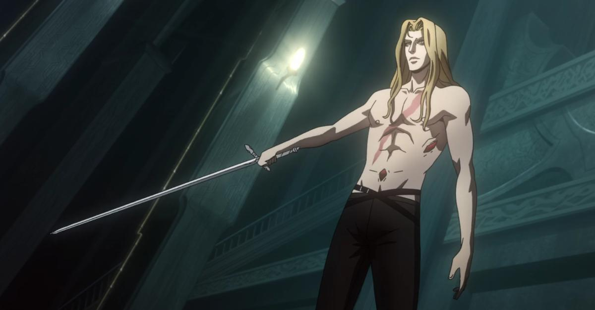 Alucard's Sword From Netflix's CASTLEVANIA Series Forged And Ready For Battle - Dread Central