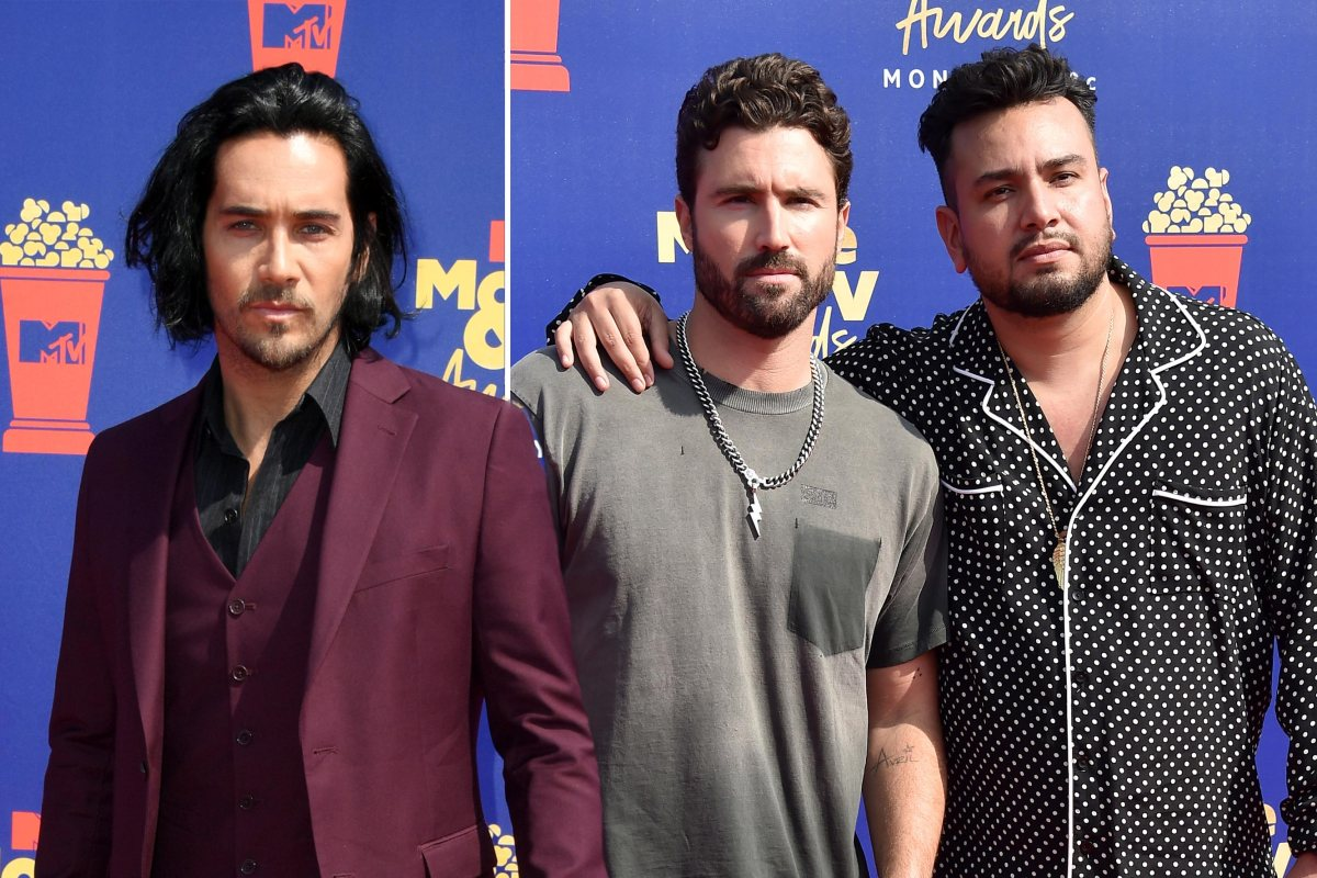 'The Hills' Frankie Delgado, Brody Jenner and Justin Bobby Brescia hit the town after MTV Movie & TV Awards