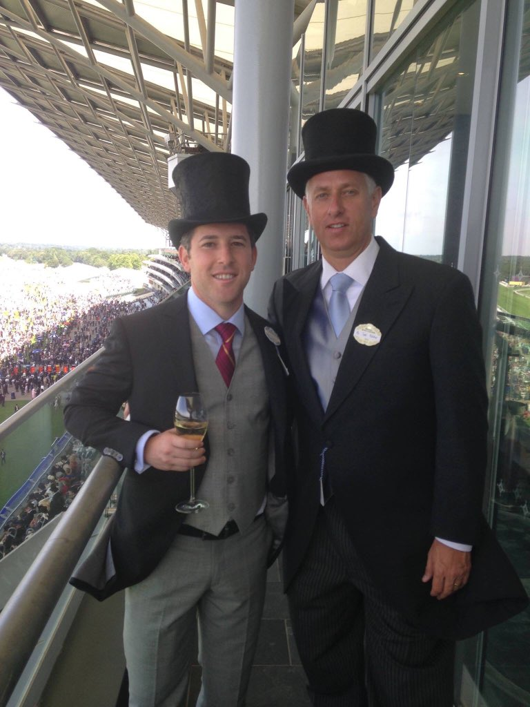 test Twitter Media - TAP @PletcherRacing might be known for his suits but for sure not his 🎩's. First day of the Royal @Ascot meeting. This photo was from a few years ago 🤣. https://t.co/xbz4Isbdoj