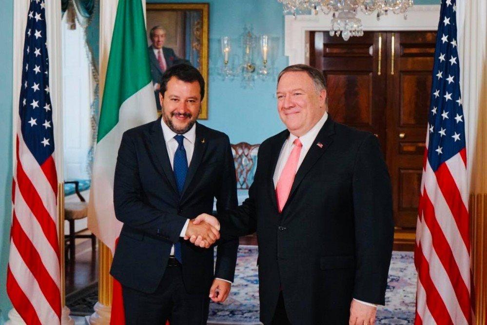 Salvini negli Usa