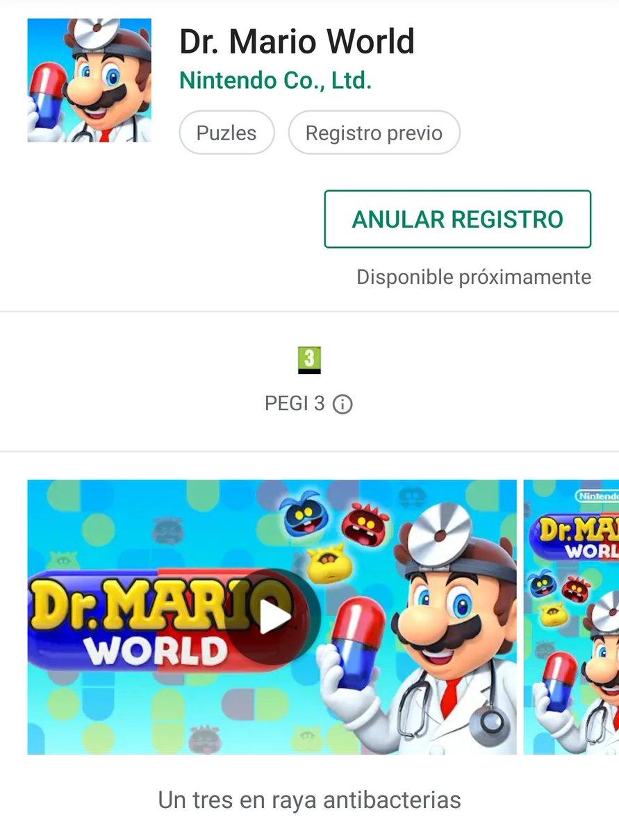 Se viene... Dr. Mario World. ¿Para hacer más ligera la espera por Mario Kart Tour? https://t.co/qma0avlSYJ