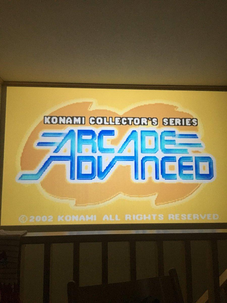 test ツイッターメディア - いくつかソフトをレトロフリークに読み込ませる。スーパーファミコン「ストリートファイター2ターボ」gba「konami arcade advanced」。 https://t.co/IPiVAkrBAq