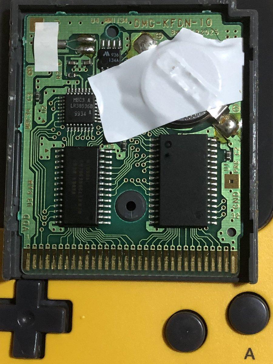 test ツイッターメディア - 雑だけど電池交換上手くいった。 ポケギア貰う前なので日曜日 ゲームボーイのポケモンクリスタルも電池交換しようとして 根元が取れて失敗したけど レトロフリークでソフトがインストール出来たから別に良いかな https://t.co/abPWLCqO3O