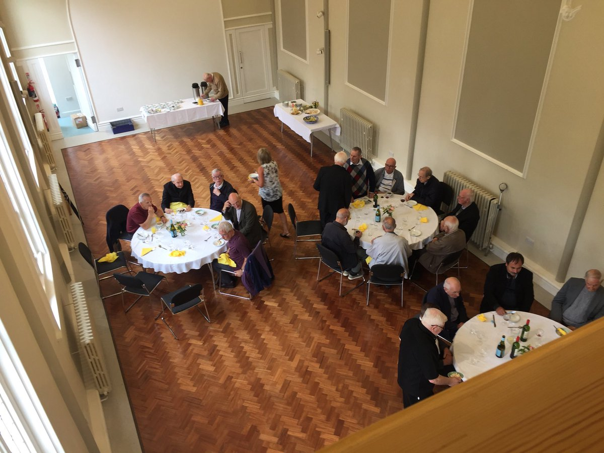 test Twitter Media - Very wet this afternoon - but I'm just back from a meeting and lunch with our retired clergy in Milner Hall, Winchester. We have 40 retired priests - today there was a great turnout. May God bless them all with health and happiness. https://t.co/QdJw2cF5Es